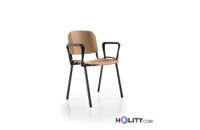 sedia-per-sala-meeting-con-braccioli-h498-11
