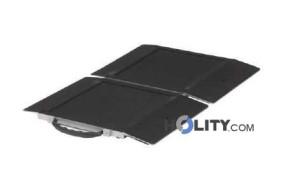 Rampa mobile per disabili a piegamento singolo h8920
