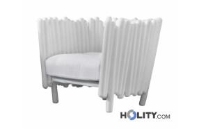 poltrona-di-design-in-acciaio-e-polietilene-con-cuscino-h6411