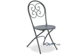 sedia-da-giardino-pieghevole-in-acciaio-verniciato-h19226