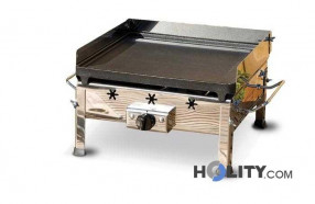 Piastra per barbecue a gas GPL h17027