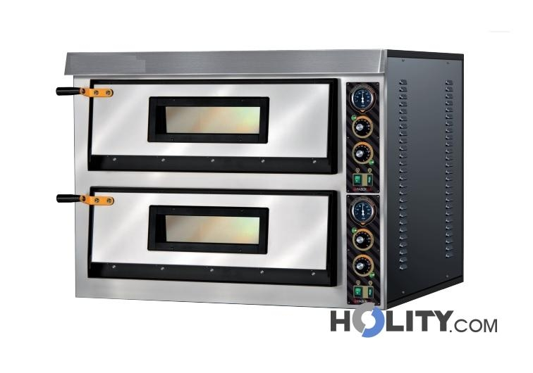 Forno per pizze a due camere h29004