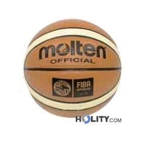 Pallone basket in pelle sintetica h3653