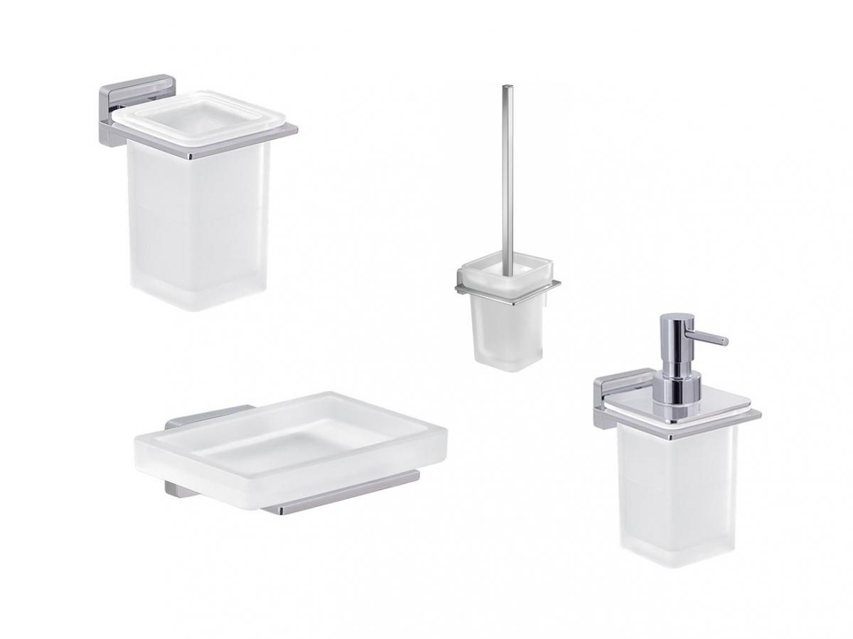Accessori Bagno A Muro : Set accessori bagno casa e giardino confronta prezzi