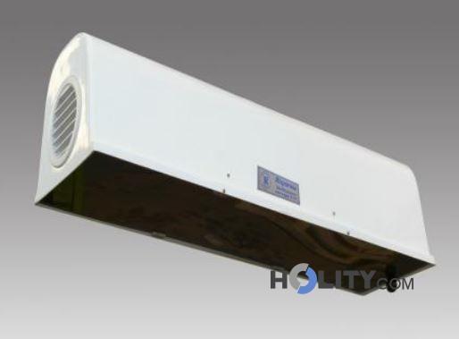 Zanzariera elettrica con schermatura e ventole h20102