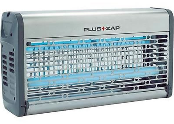 Zanzariera elettrica 30 W in alluminio h09116