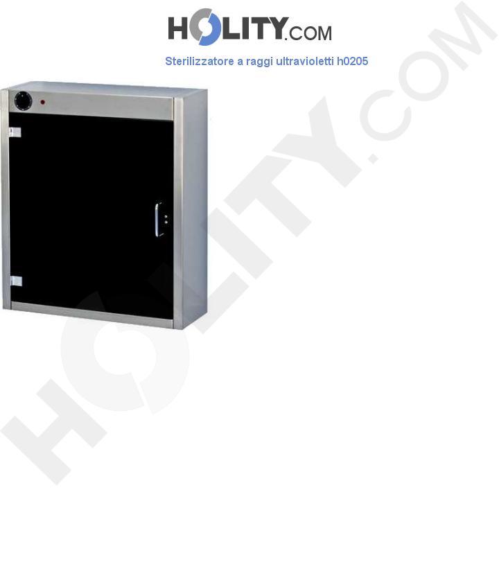 Sterilizzatore a raggi ultravioletti h0205