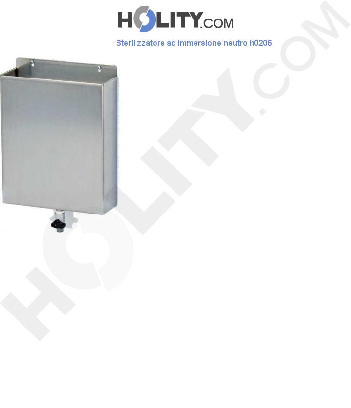 Sterilizzatore ad immersione neutro h0206