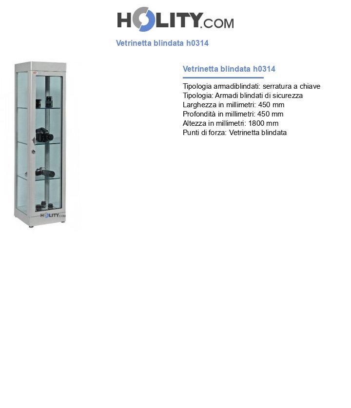 Vetrinetta blindata h0314