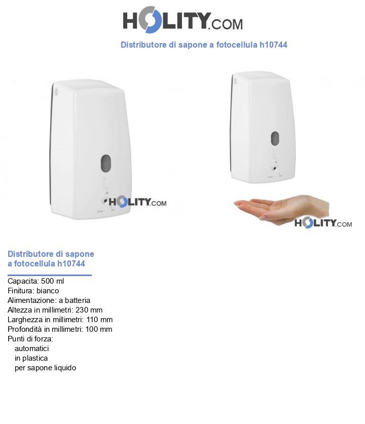 Distributore di sapone a fotocellula h10744