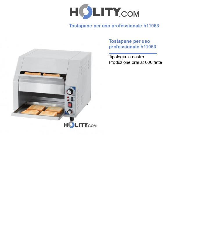 Tostapane per uso professionale h11063