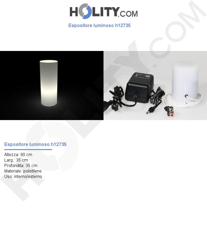 Espositore luminoso h12735