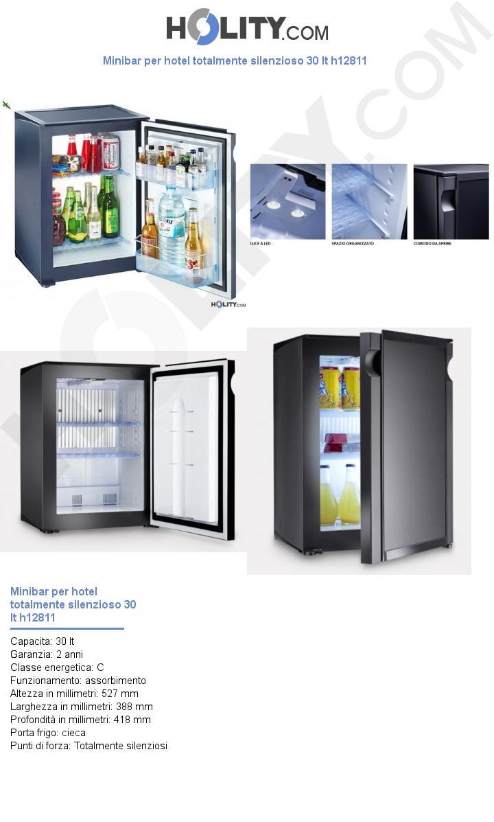 Minibar per hotel totalmente silenzioso 30 lt h12811