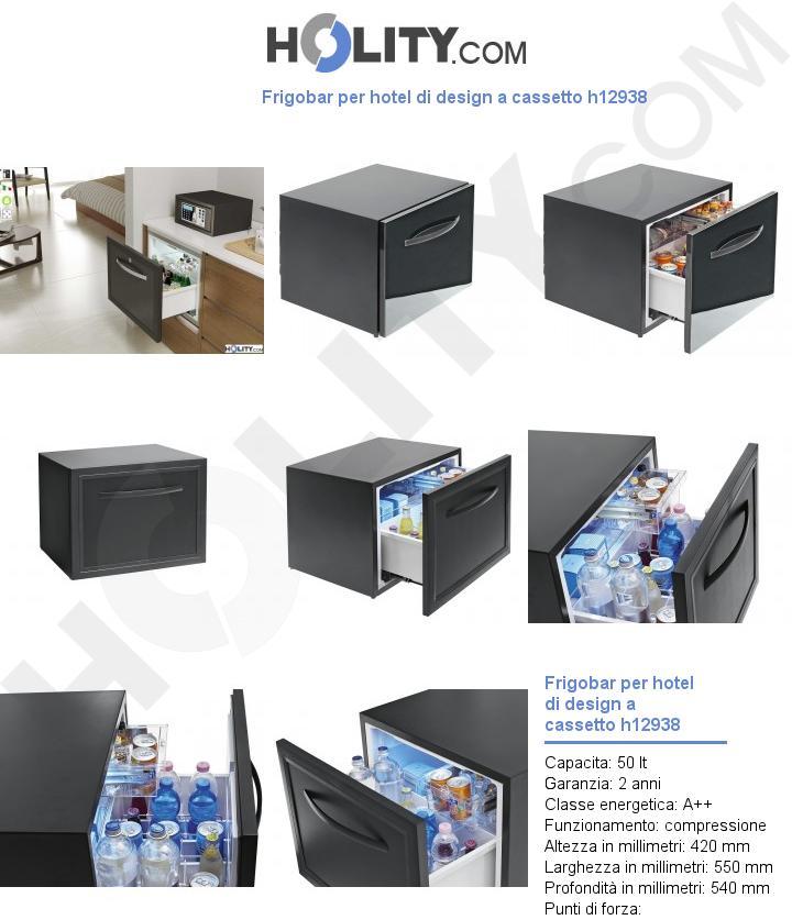 Frigobar per hotel di design a cassetto h12938