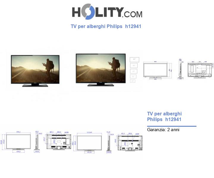 TV per alberghi Philips  h12941