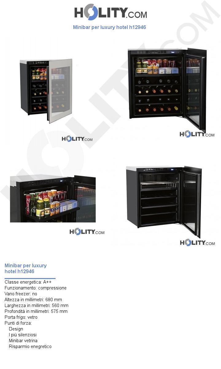 Minibar per luxury hotel h12946