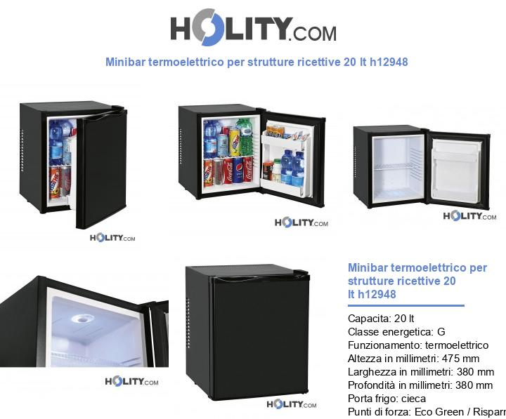 Minibar termoelettrico per strutture ricettive 30 lt h12948