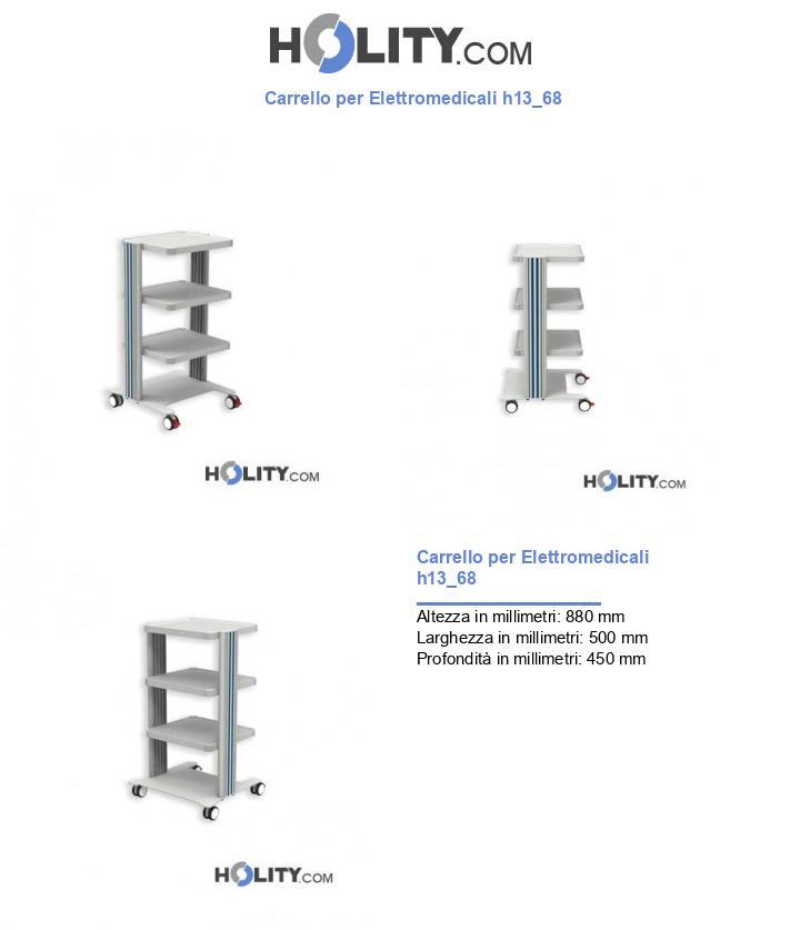 Carrello per Elettromedicali h13_68
