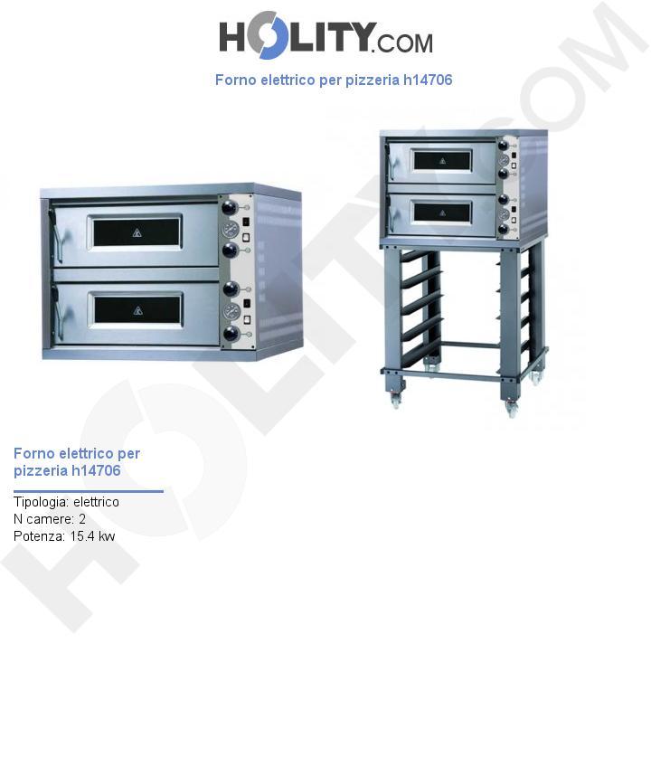 Forno elettrico per pizzeria h14706