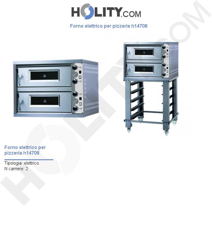 Forno elettrico per pizzeria h14708