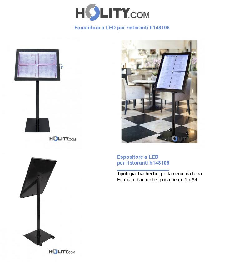 Espositore a LED per ristoranti h148106