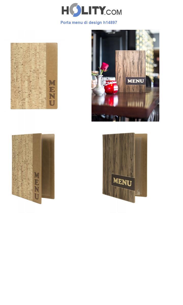 Porta menu di design h14897