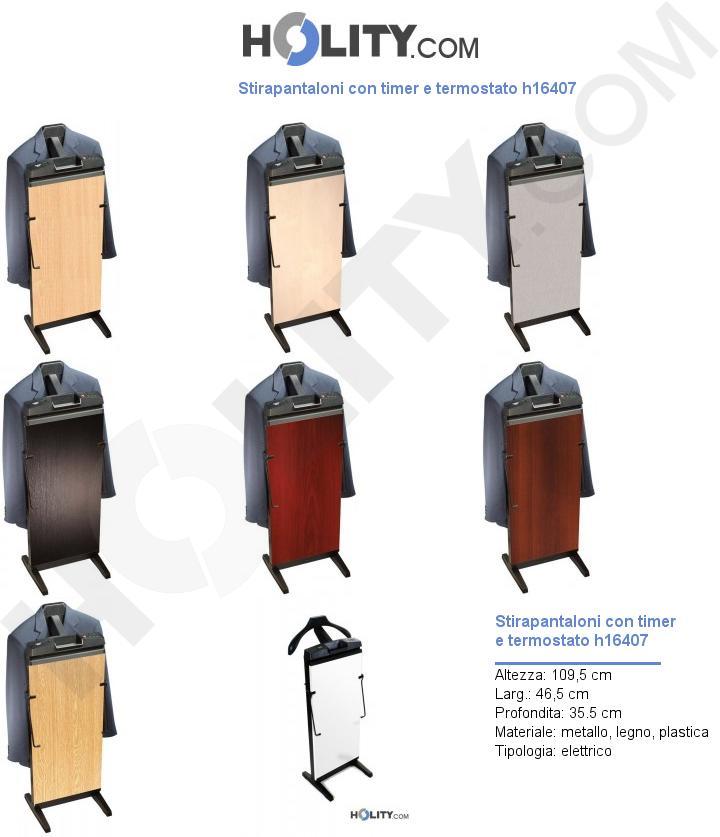 Stirapantaloni con timer e termostato h16407