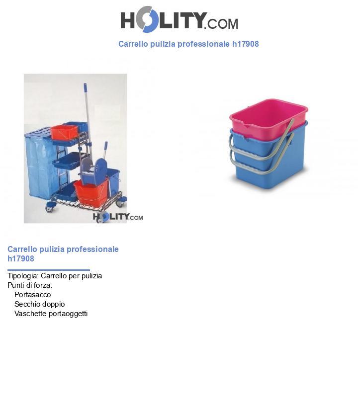 Carrello pulizia professionale h17908