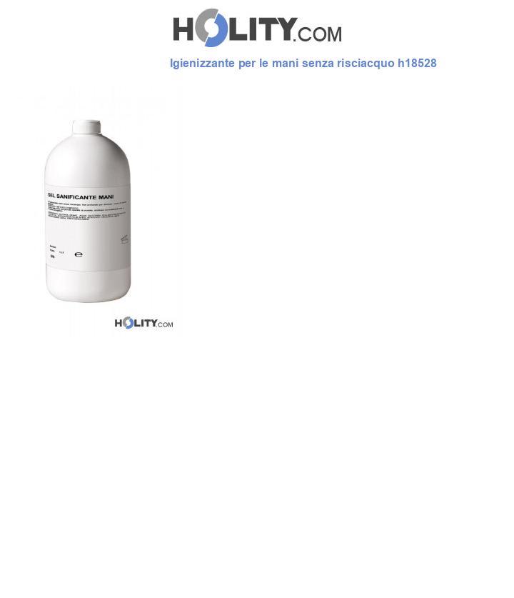 Igienizzante per le mani senza risciacquo h18528