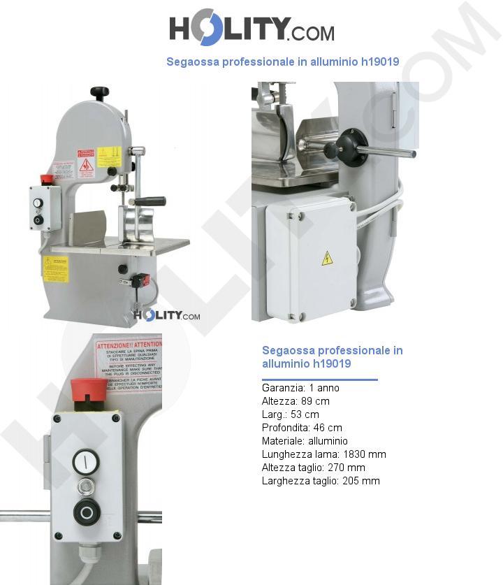 Segaossa professionale in alluminio h19019