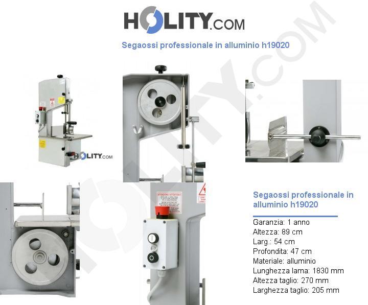 Segaossi professionale in alluminio h19020