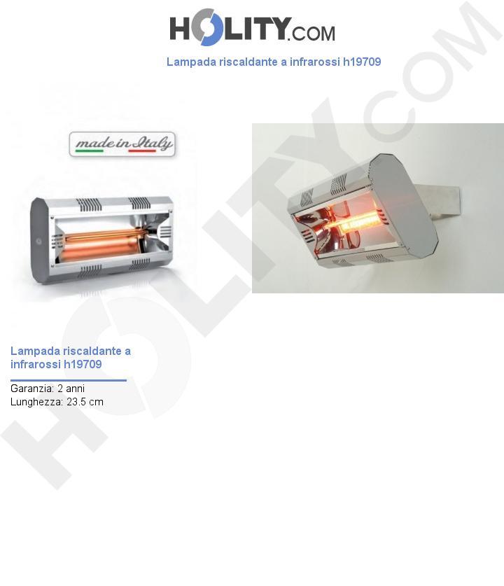 Lampada riscaldante a infrarossi h19709
