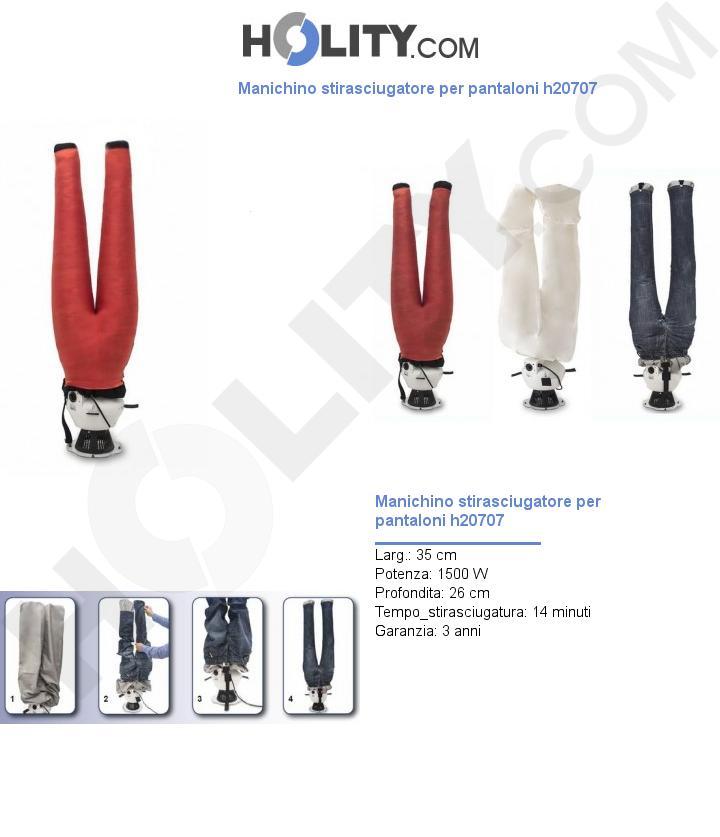 Manichino stirasciugatore per pantaloni h20707