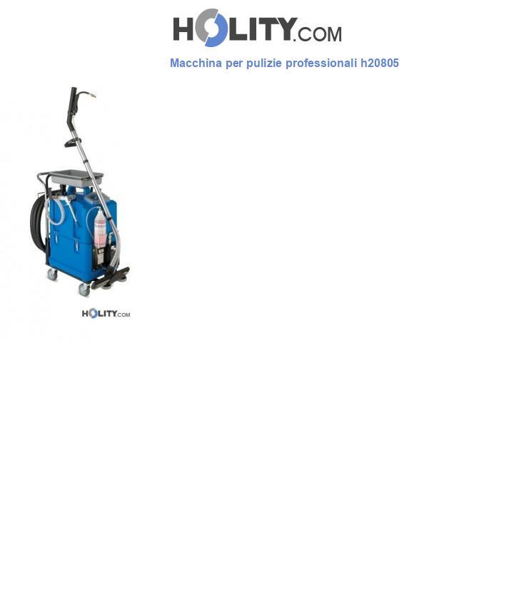 Macchina per pulizie professionali h20805