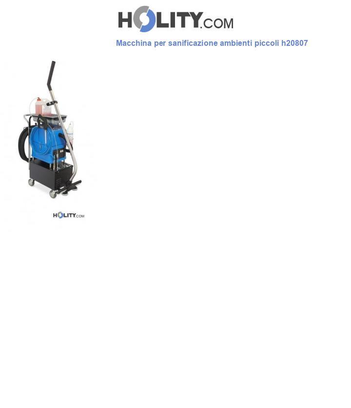 Macchina per sanificazione ambienti piccoli h20807