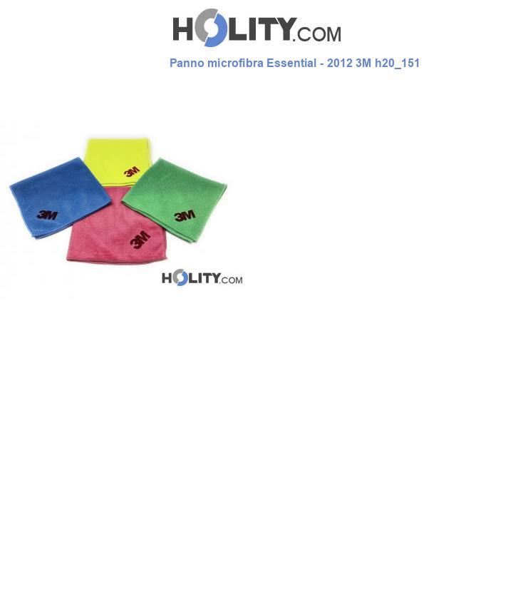 Panno microfibra Essential - 2012 3M h20_151