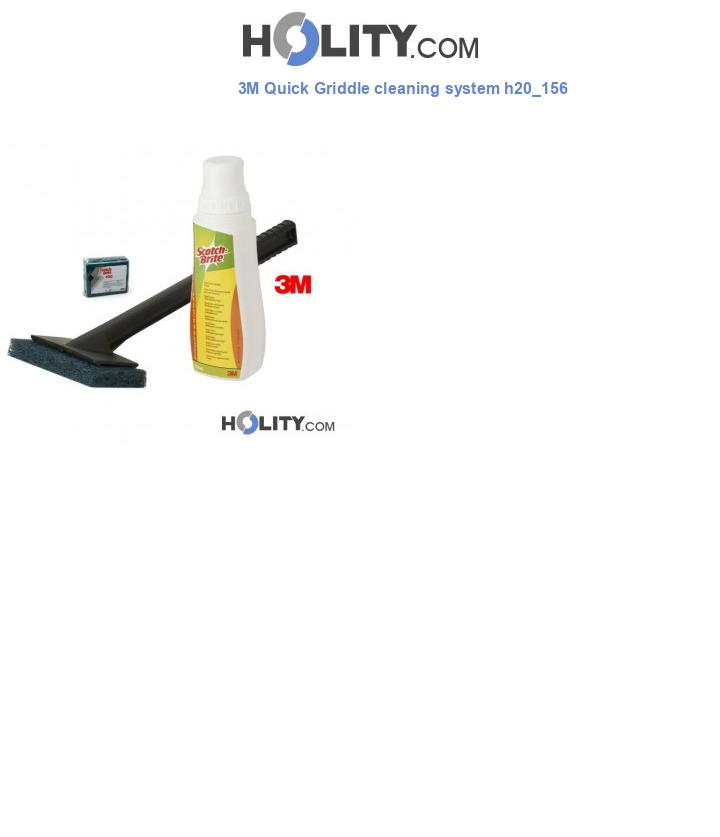 3M Quick Griddle cleaning system h20_156