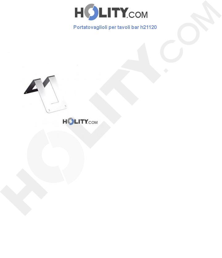 Portatovaglioli per tavoli bar h21120
