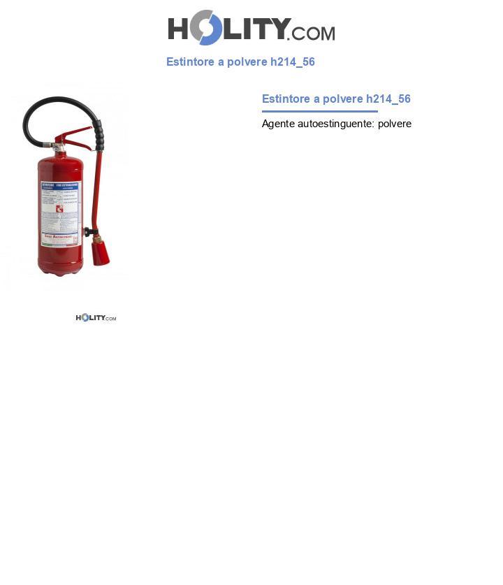 Estintore a polvere h214_56