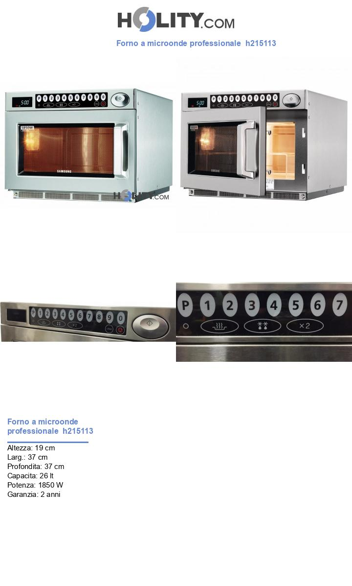 Forno a microonde professionale  h215113