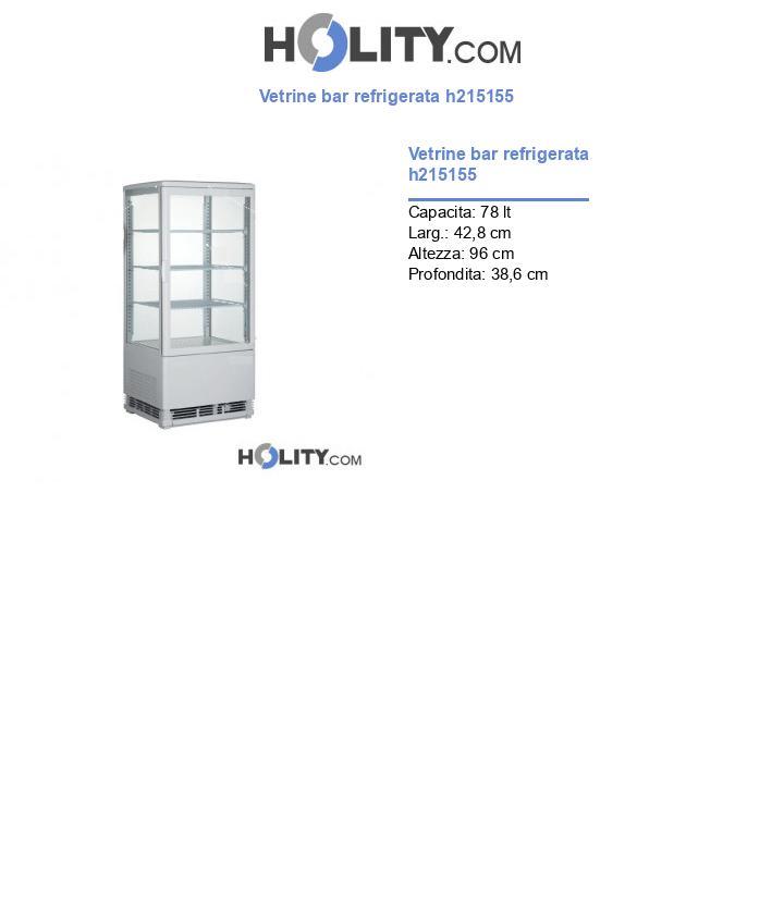 Vetrine bar refrigerata h215155