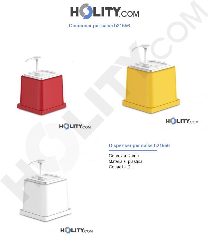 Dispenser per salse h21556