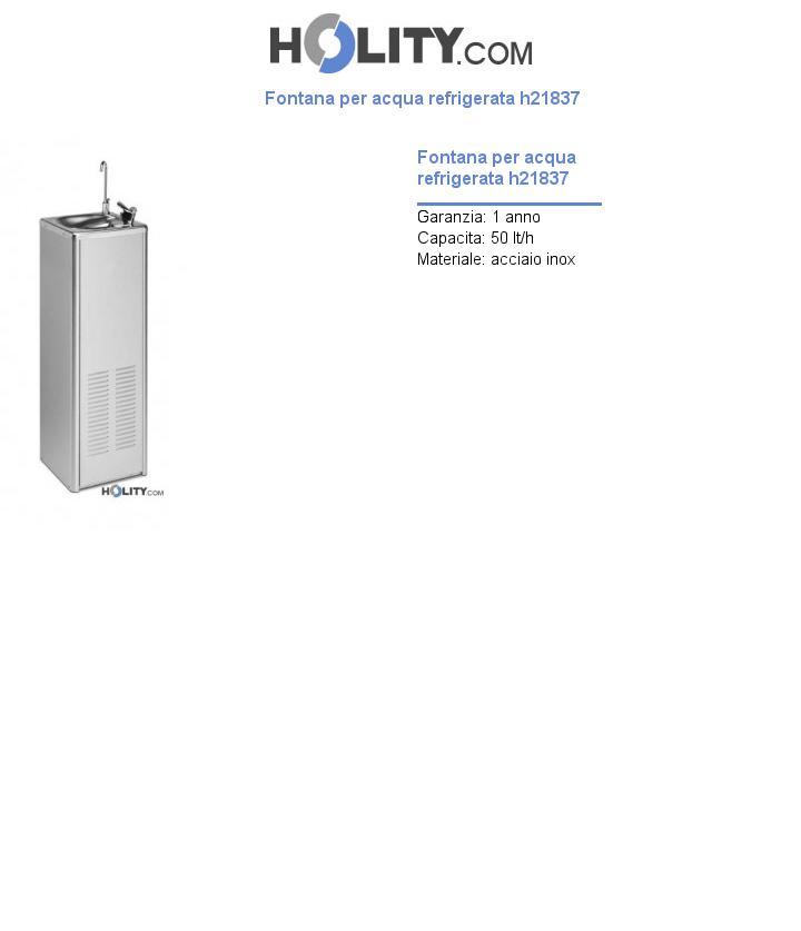 Fontana per acqua refrigerata h21837