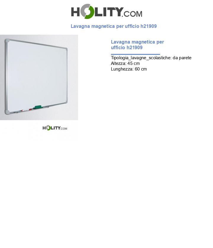 Lavagna magnetica per ufficio h21909