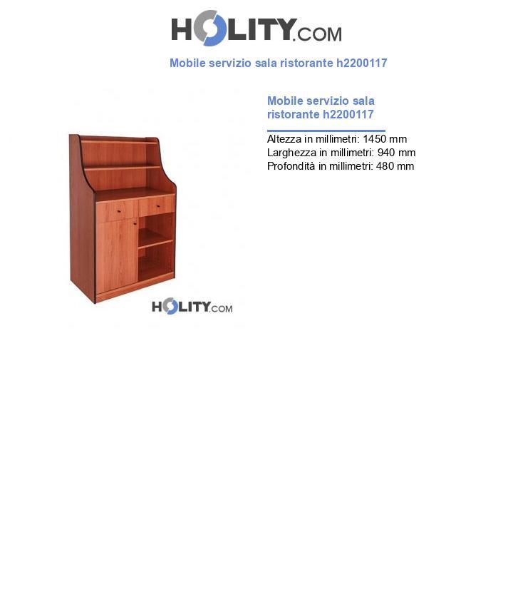 Mobile servizio sala ristorante h2200117