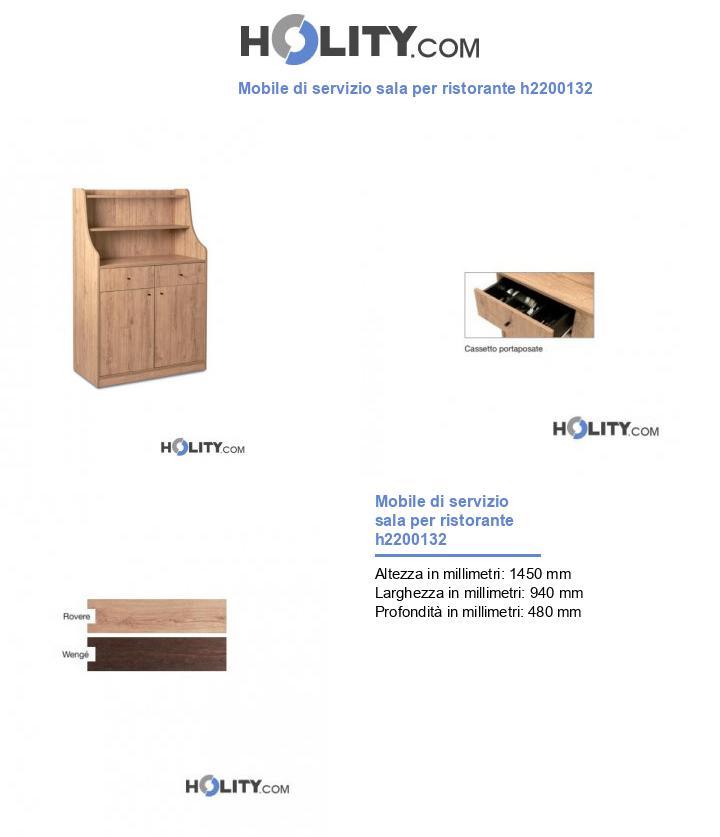 Mobile di servizio sala per ristorante h2200132