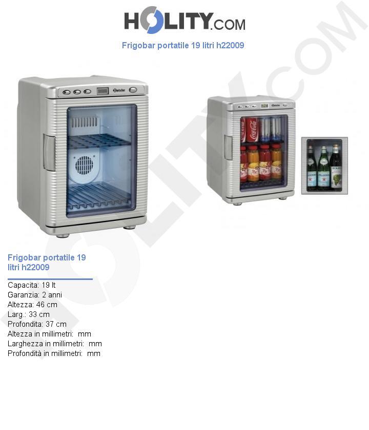 Frigobar portatile 19 litri h22009