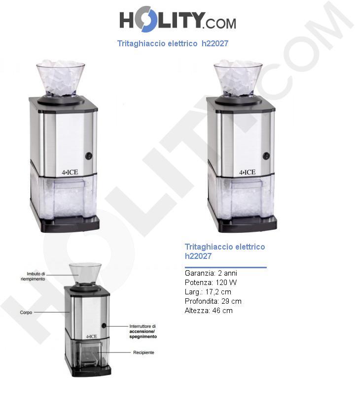 Tritaghiaccio elettrico  h22027