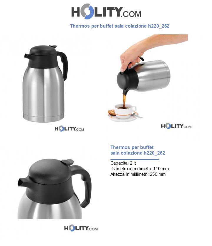 Thermos per buffet sala colazione h220_262