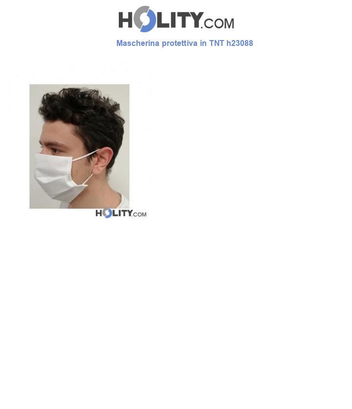 Mascherina protettiva in TNT h23088